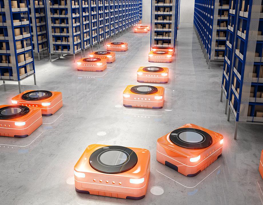 robotica almacenes eficiencia futuro robot