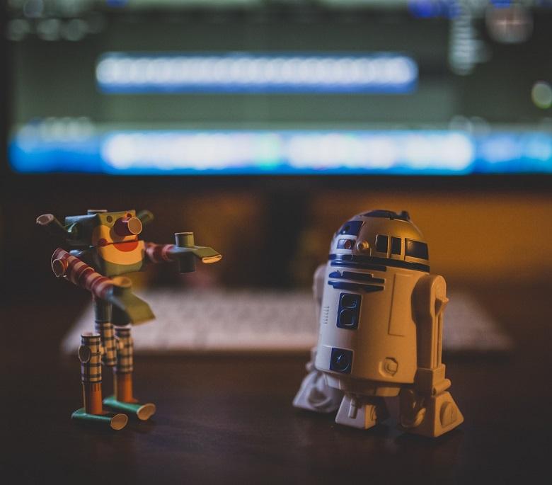 robots san valentin