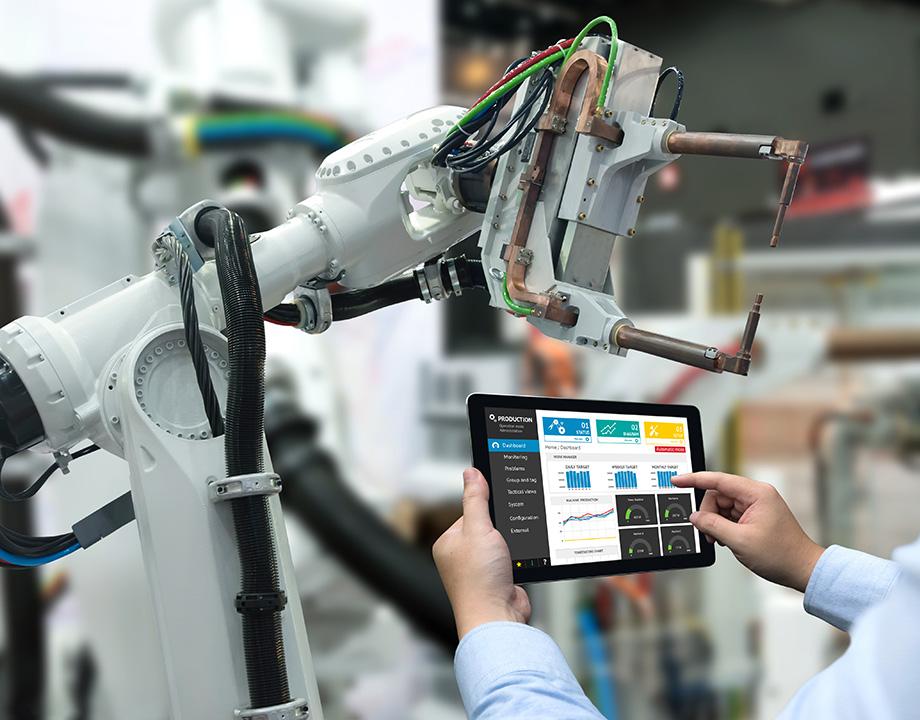 tecnologia autonoma cobot brazo fabrica
