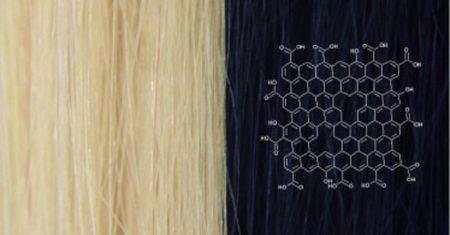 Tinte de cabello de grafeno
