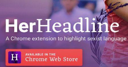 Her Headline lenguaje sexista
