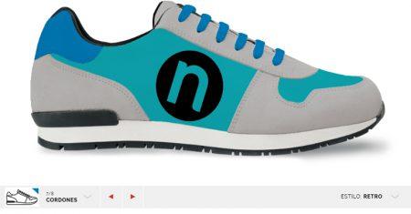 diseño de zapatillas