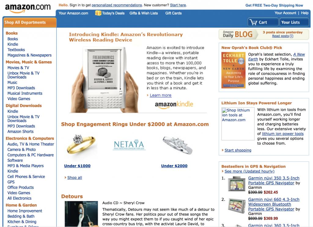 Amazon 2008