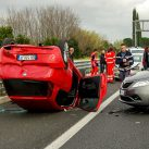 Llamar por el móvil y accidente de tráfico