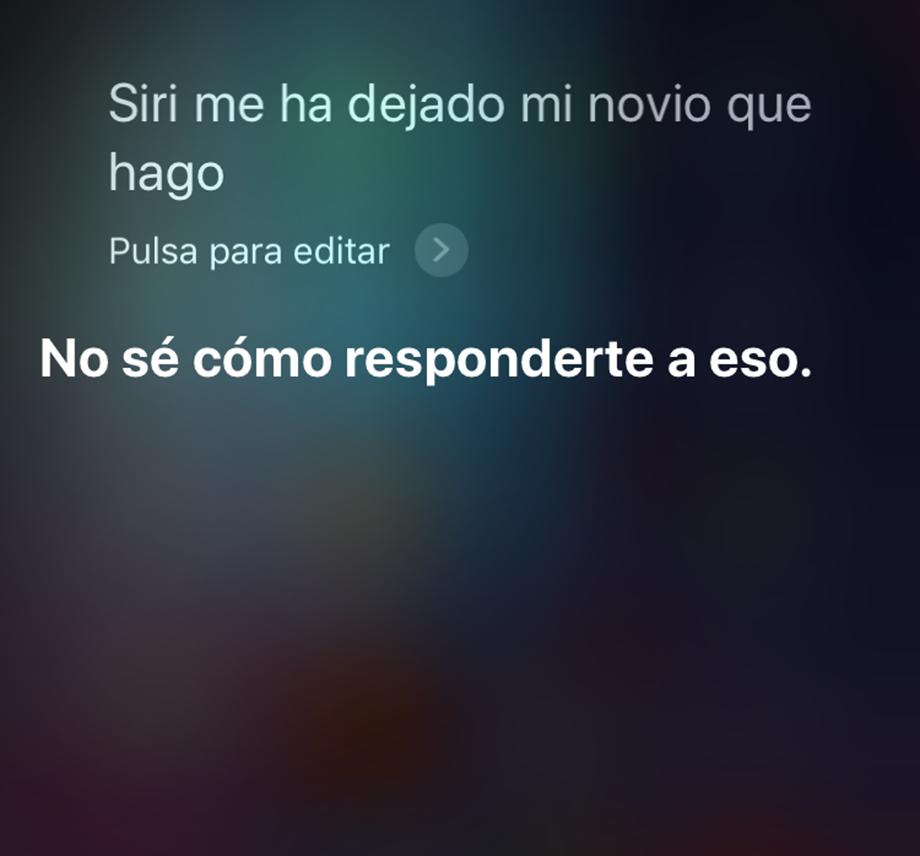 Consejos en Siri para búsqueda por voz