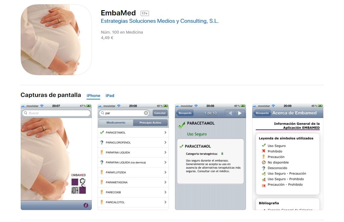 La app EmbaMed
