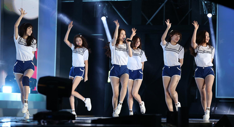 GFriend, un grupo de k-pop de chicas