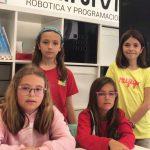 Cuatro niñas en Silicon Valley