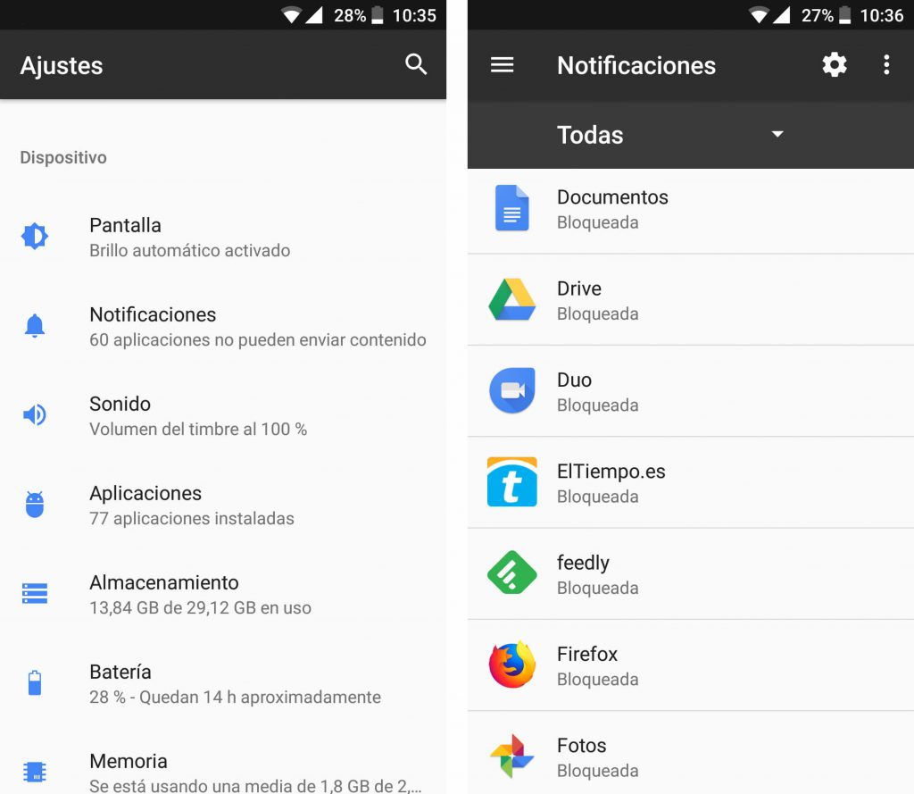 quitar publicidad en android las notificaciones