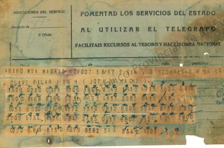 Clave Pilar. Criptografía