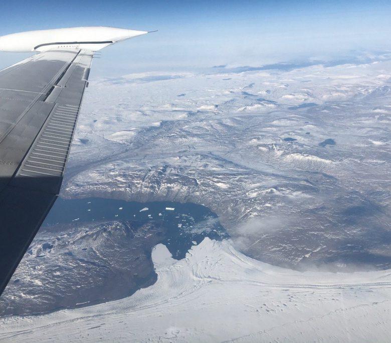 IceBridge estudia el Ártico y la Antártida