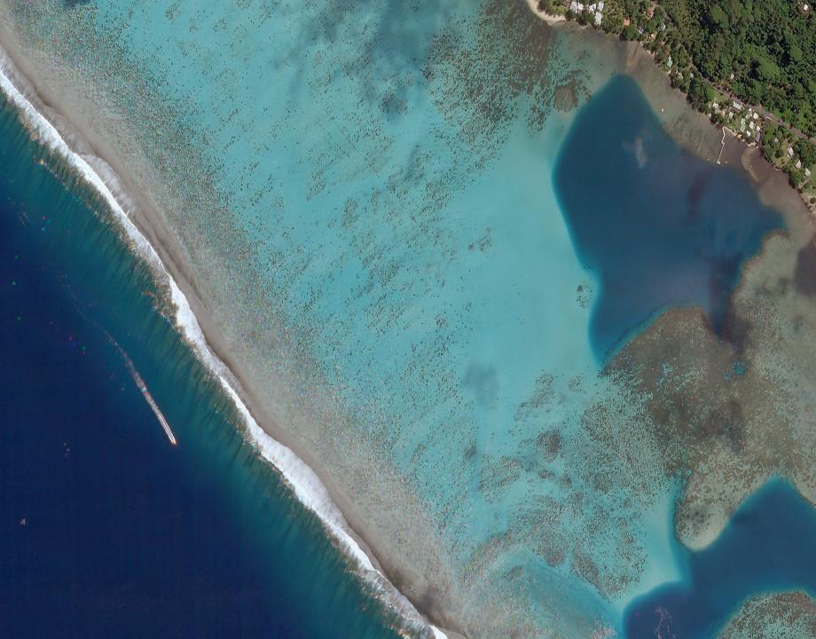 Isla de corales