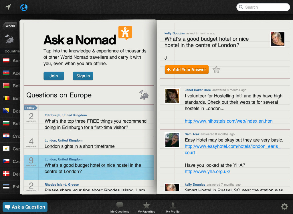 Ask a Nomad