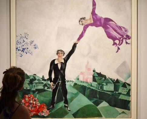 'Paseo', de Marc Chagall (1917)