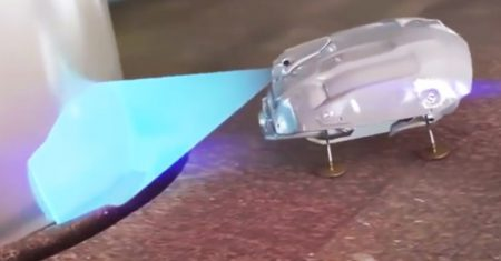 Rolls-Royce. Robots cucarachas