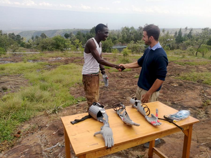 Prótesis 3D Kenia