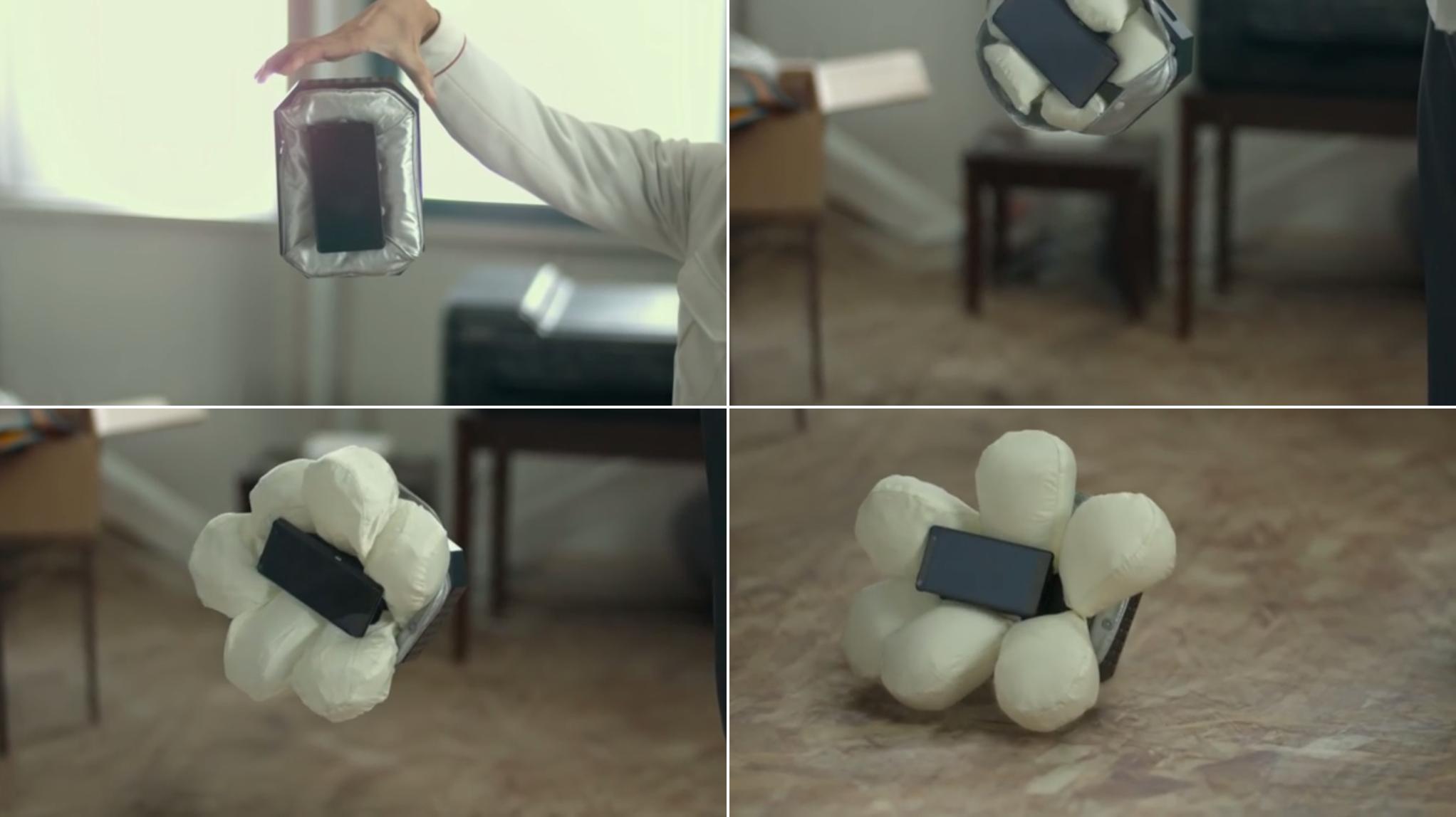 airbag para smartphones