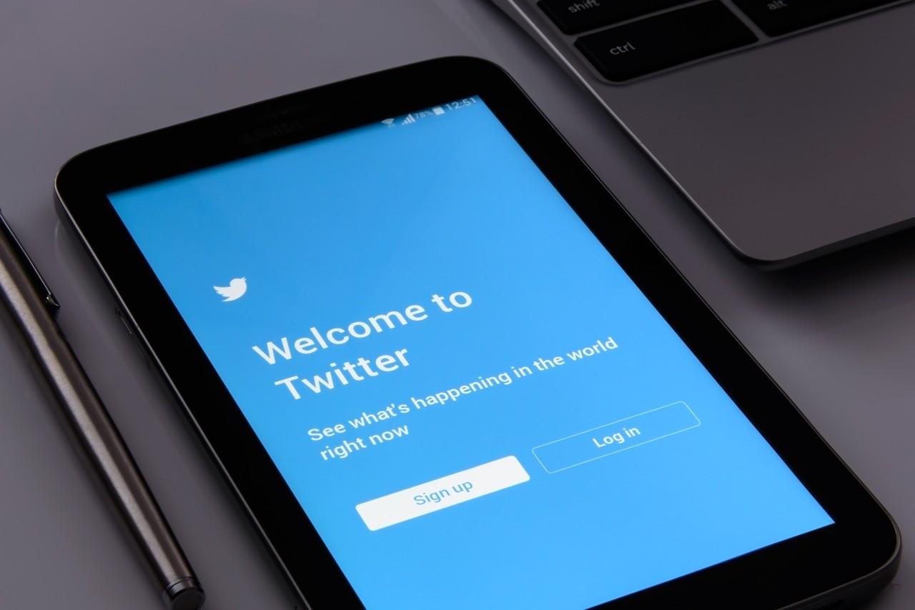 Pantalla inicio Twitter