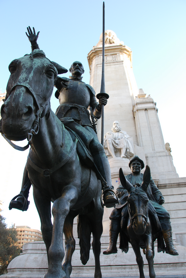 Don quijote. Cervantes