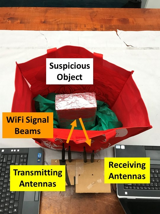 Wifi para detectar bombas