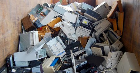 minería urbana de residuos electrónicos