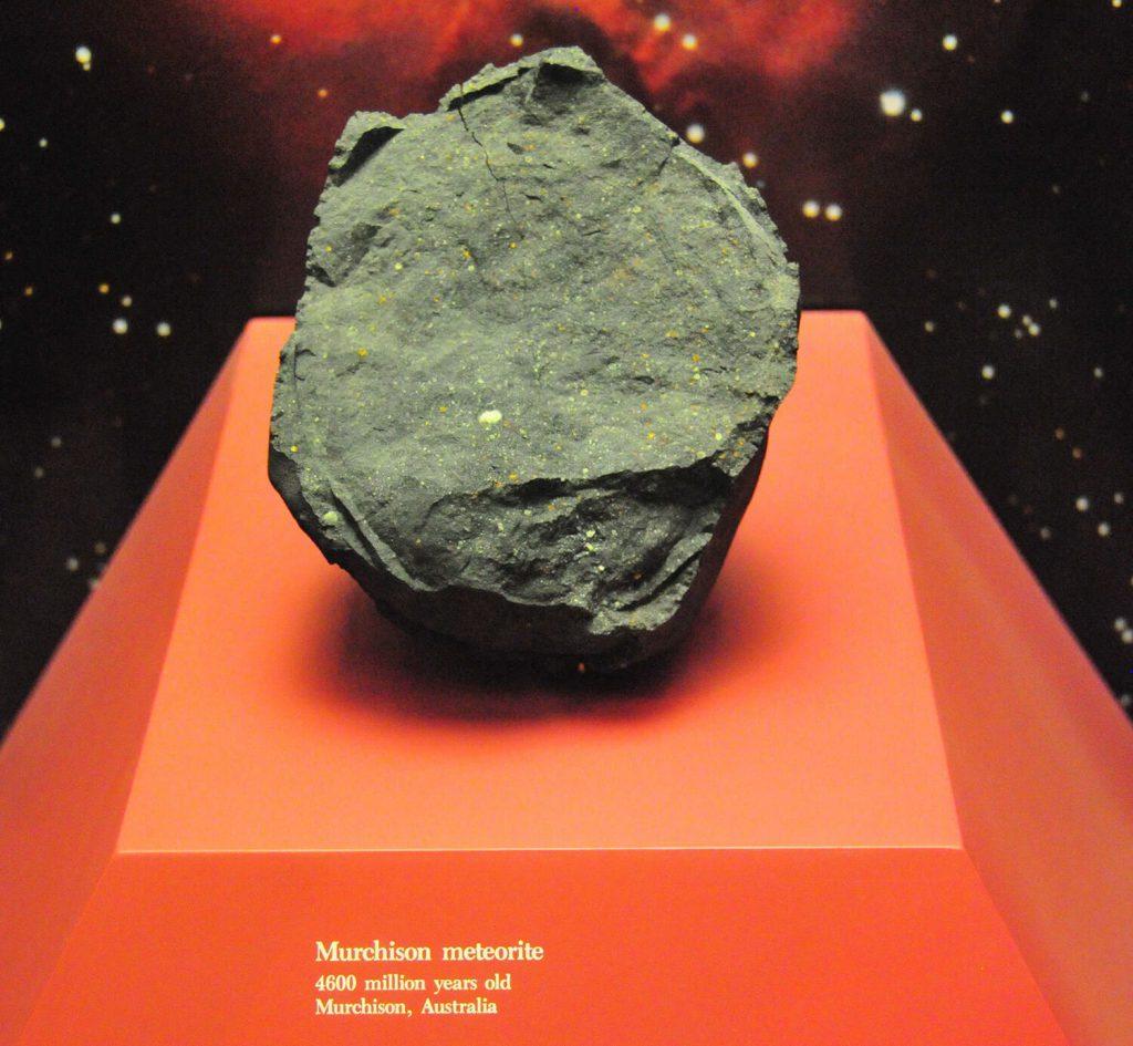 origen del sol meteorito