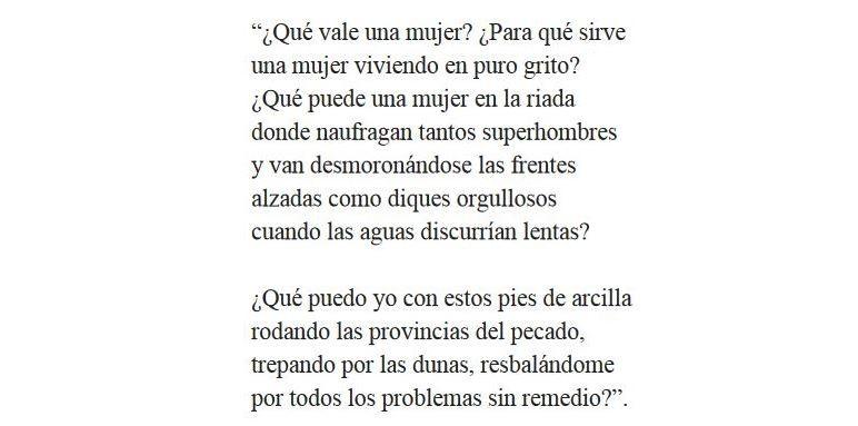 Versos de Ángela Figuera Aymerich
