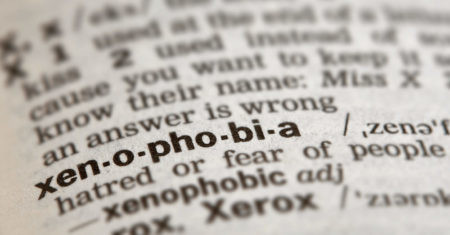 Lucha a la xenofobia