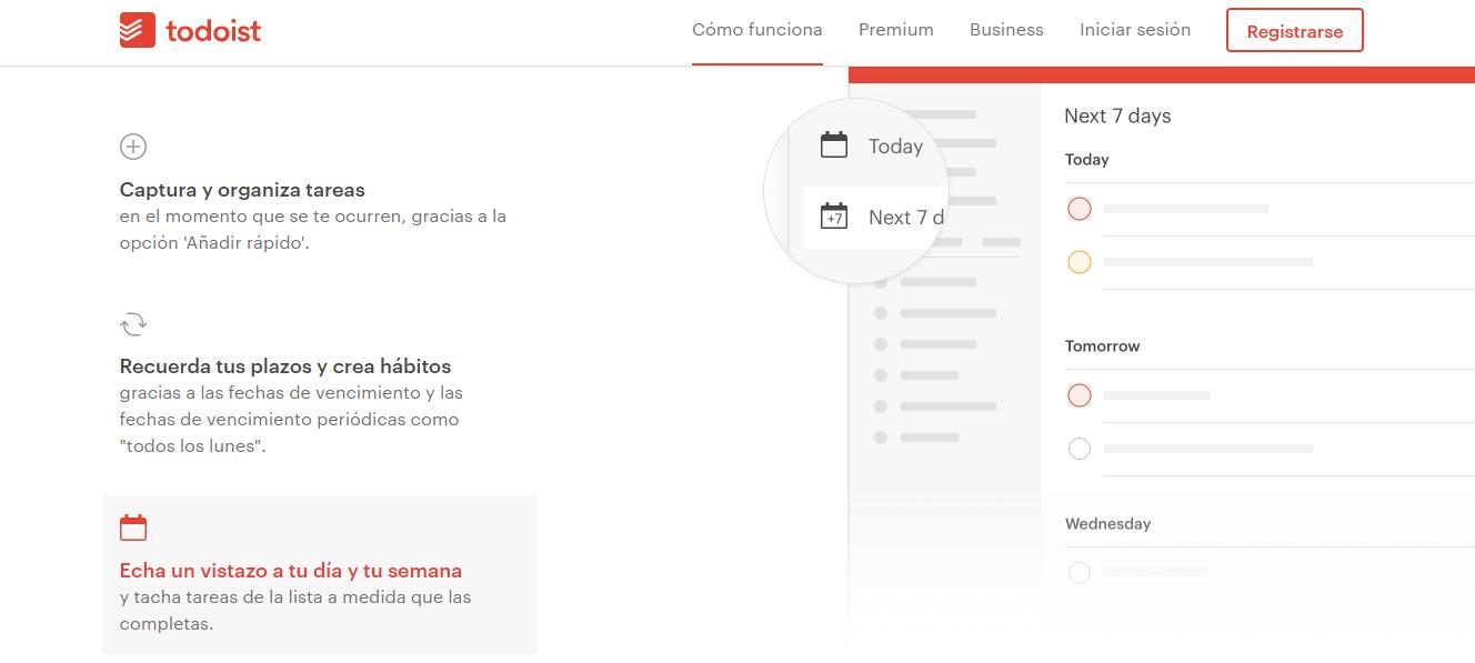 app para organizarte_ todoist