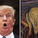 Art selfie Trump