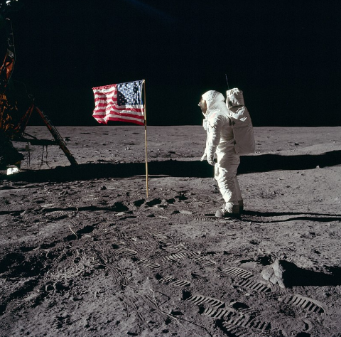 Nasa, el hombre llega a la luna