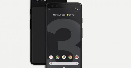 pixel 3 Google negro