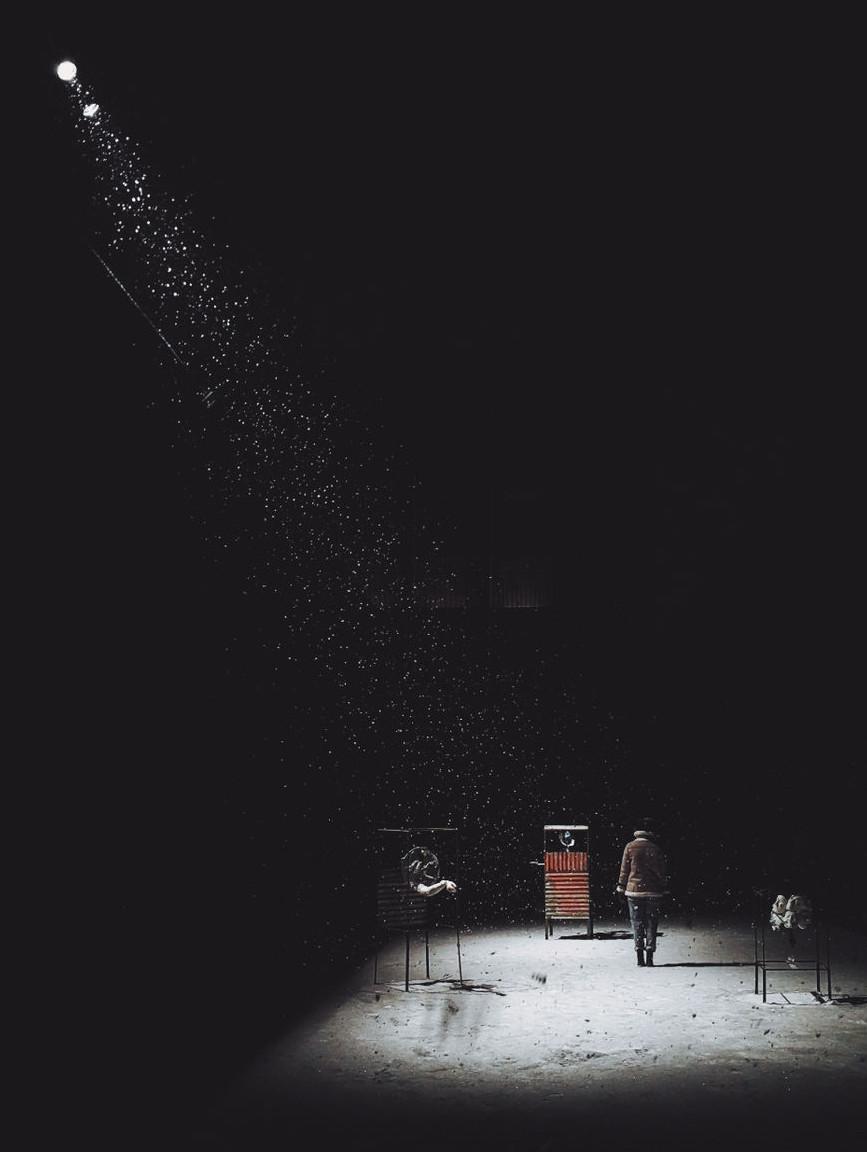 """""""Atrapados en un rayo de luz"""" de Michał Wesołek"""