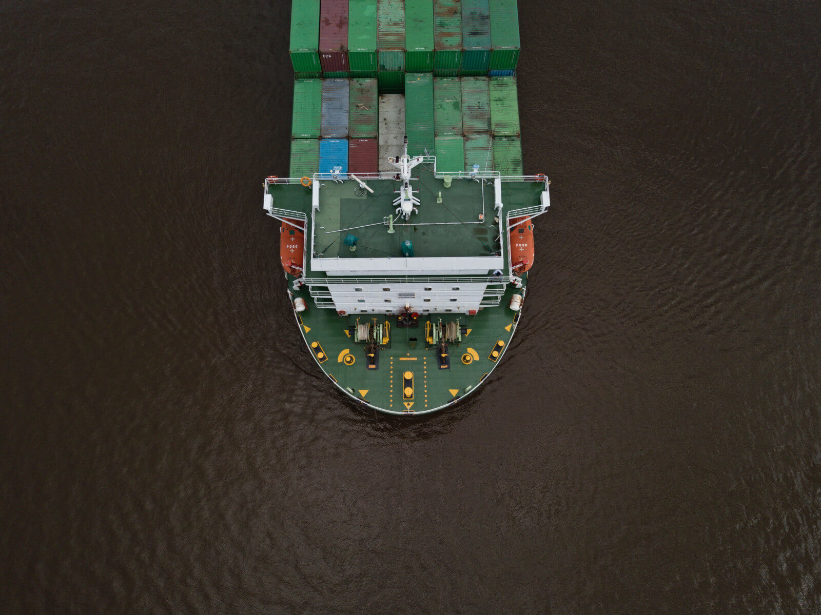 gestión de residuos en un barco