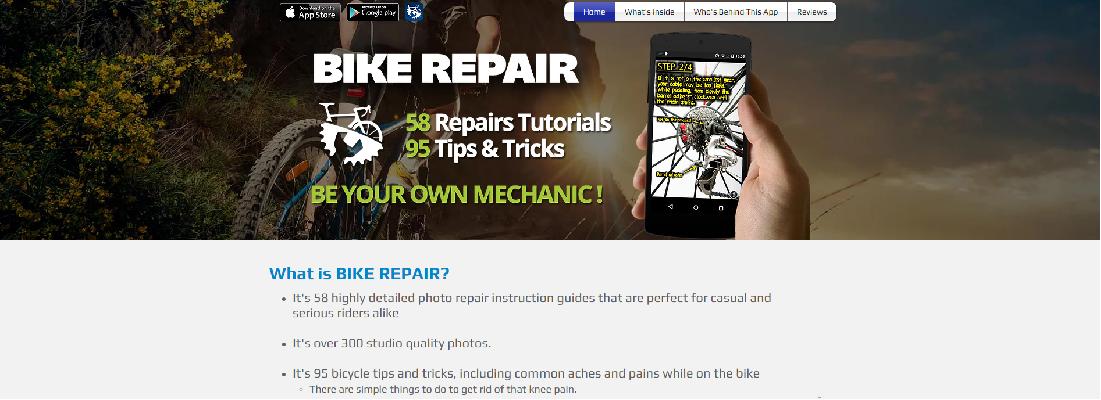 Bike repair: aplicaciones para los amantes de la bici
