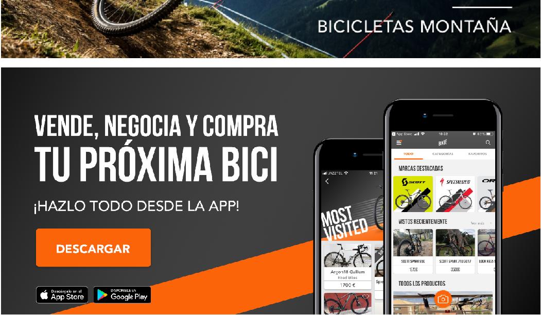 bkie: aplicaciones para los amantes de la bici
