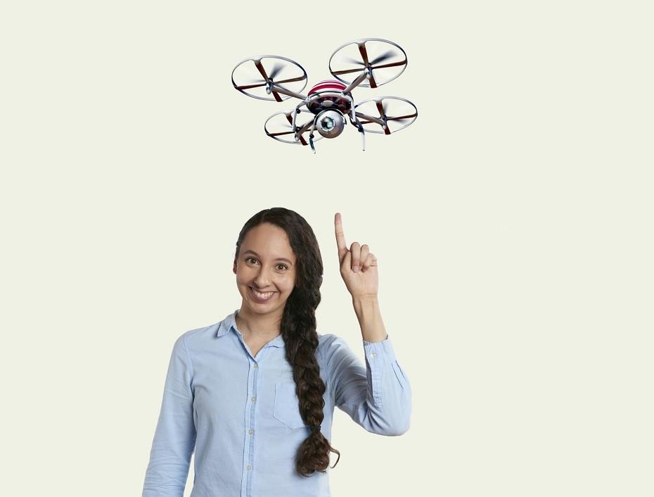 piloto de dron profesional