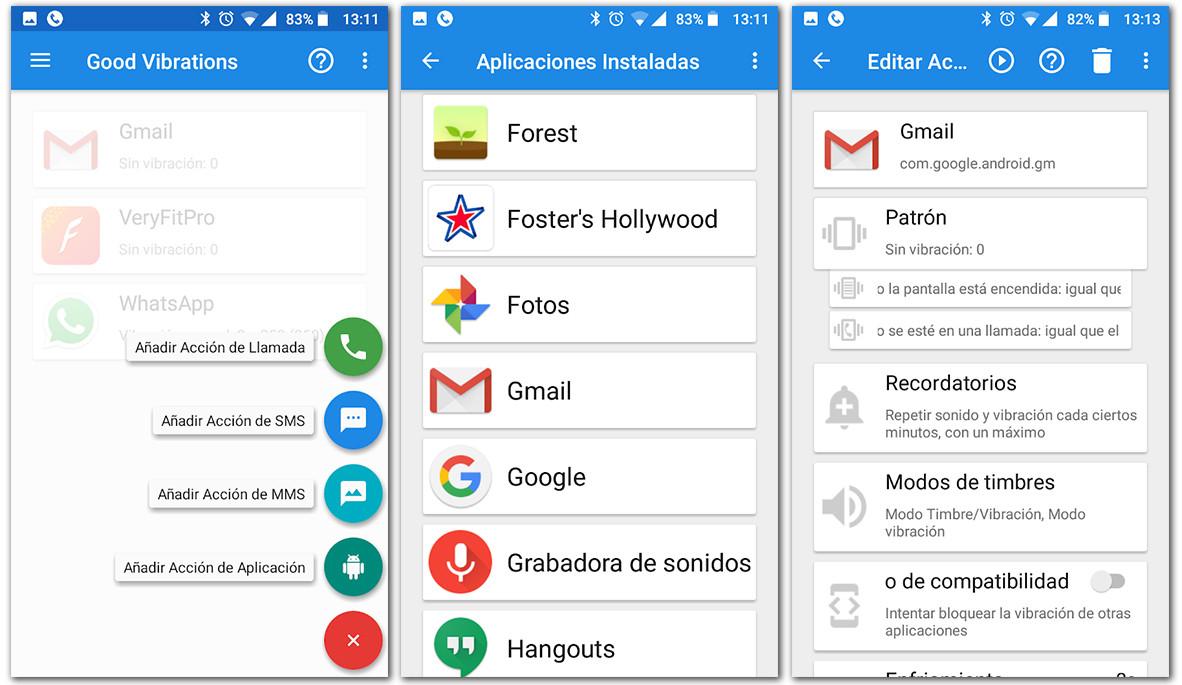 configurar notificaciones en cualquier app