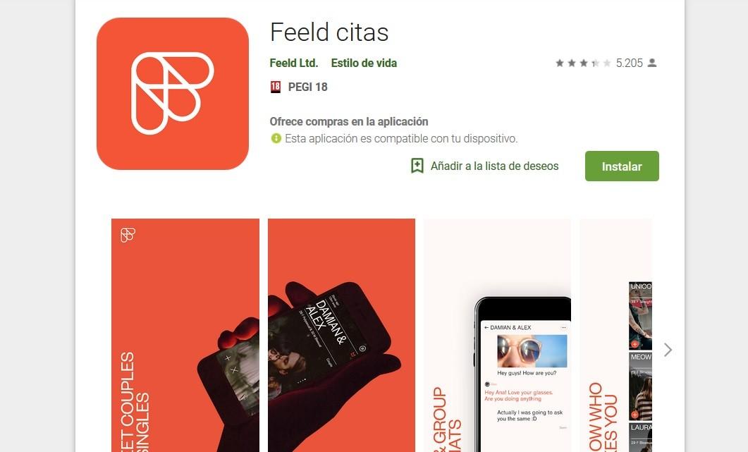Feeld es una app de citas que celebra el poliamor