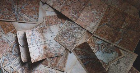 La historia de los mapas comenzó con las primeras civilizaciones