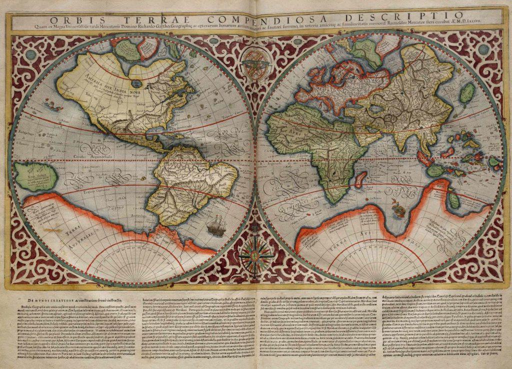 La proyección de Mercator cambió la historia de los mapas