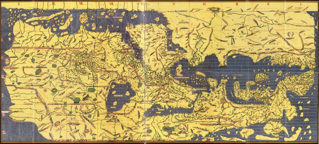 La Tabula Rogeriana es uno de los documentos más importantes de la historia de los mapas