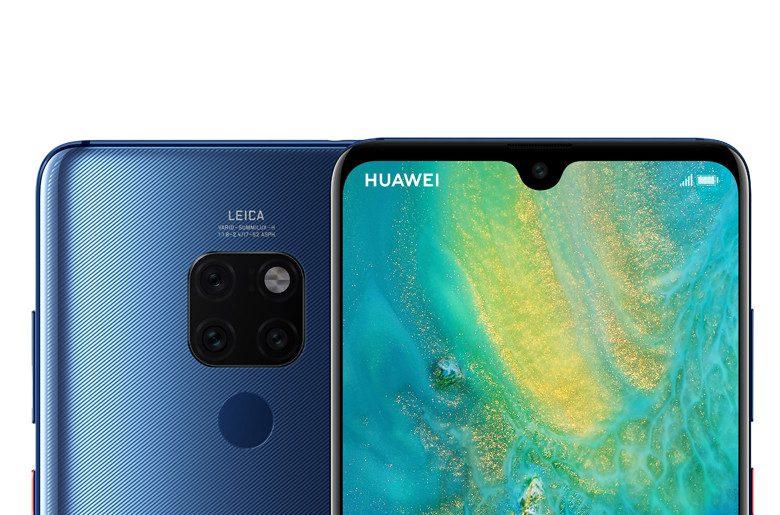 😃 Llegan los Huawei Mate 20  y Mate 20 Pro ambos con triple cámara y lector de huella bajo la pantalla