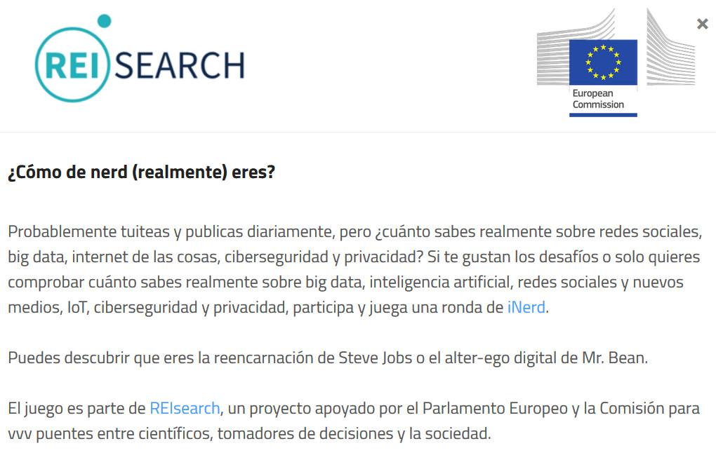 nerd Comisión Europea