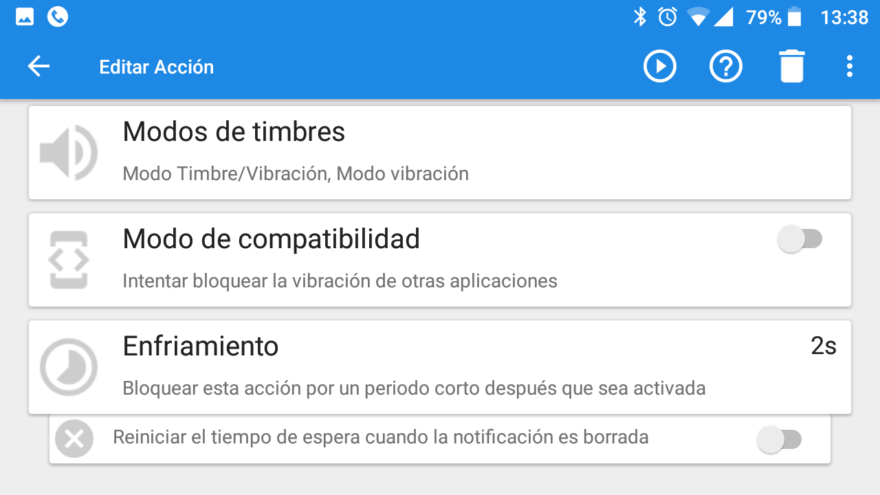 notificaciones good vibrations