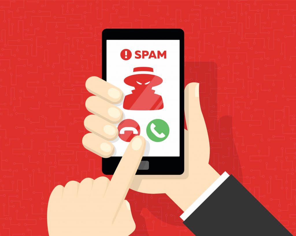 bloquear las llamadas de spam