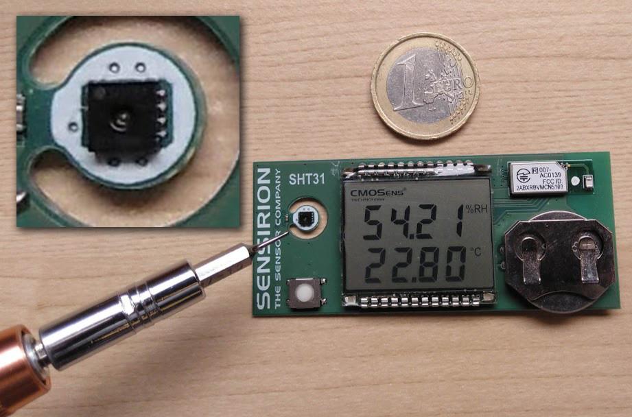 sensor de temperatura humedad