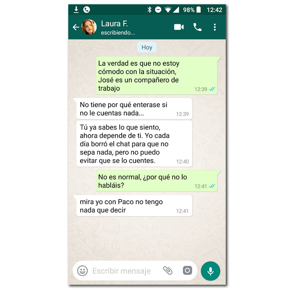 Chats de whatsapp no conocido [PUNIQRANDLINE-(au-dating-names.txt) 59