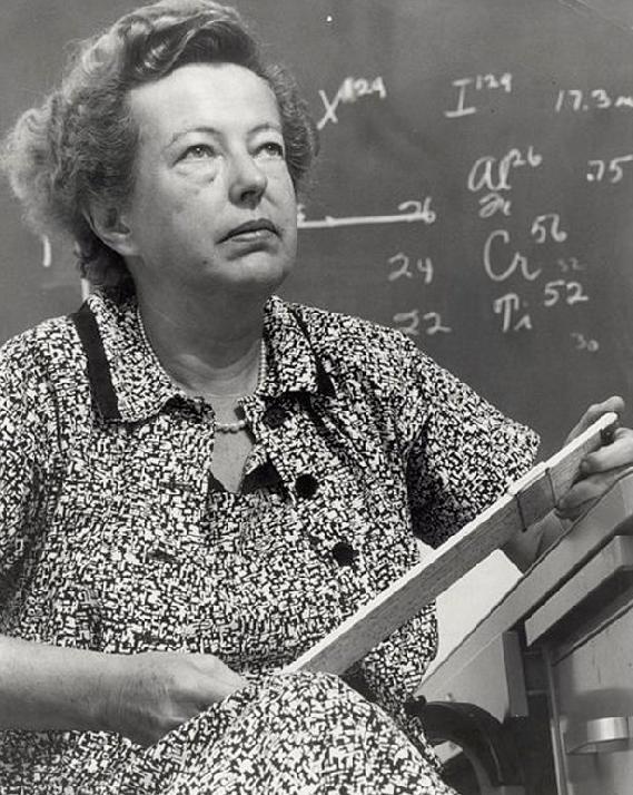 MARIA GOEPPERT-MAYER, premio Nobel de Física