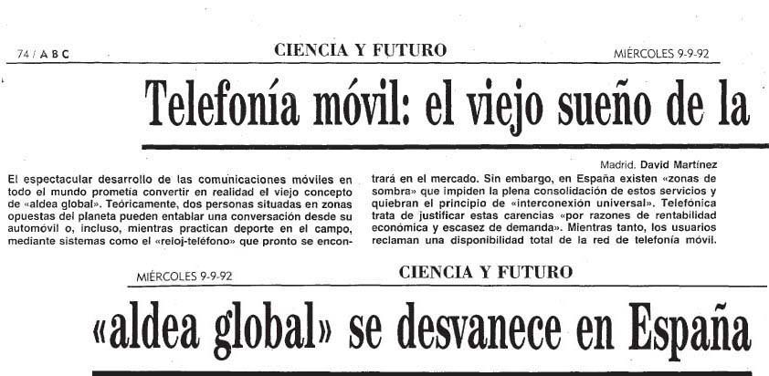 telecomunicaciones 20 años